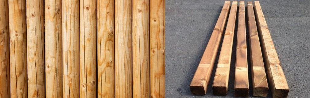 Zuebhör für Holzpfosten